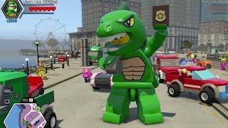 LEGO City Undercover -  Super Minifigure Cheat Unlocked (100%) + 450 Gold Brick Stud Fountain