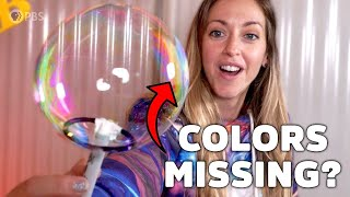 Why RED BUBBLES are impossible… or are they?!