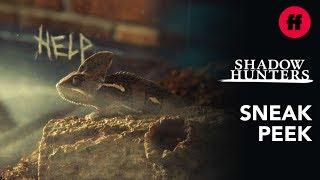 Shadowhunters Series Finale | Sneak Peek: What's Wrong With Magnus' Lizard? | Freeform