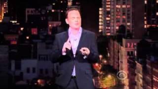 Bill Burr on Letterman [7.29.2010]