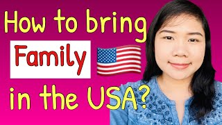 How to bring FAMILY in the USA? | J2 Dependent Visa 🇺🇸 | Alissa Lifestyle Vlog