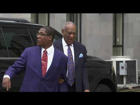 Bill Cosby has arrived at a suburban Philadelphia courthouse for the start of a sentencing hearing that will determine the punishment for the 81-year-old comedian convicted of sexual assault. (Sept. 24)