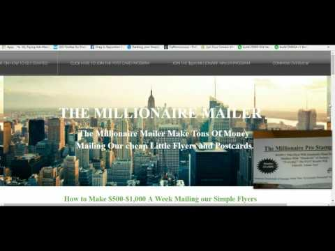 The Millionaire Mailer Review Marketing Strategy- Make Money From Home with Millionaire Mailer 2016