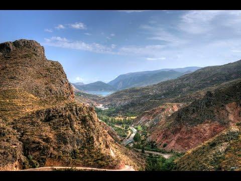 Otívar, Jete y Lentegí, el Valle del Rio Verde. Granada