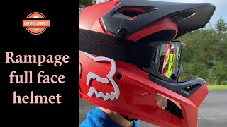 Fox Racing Rampage full face helmet review