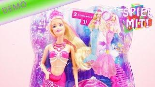 Barbie 2 in 1 | Meerjungfrau verwandelt sich in Meeresprinzessin | Demo