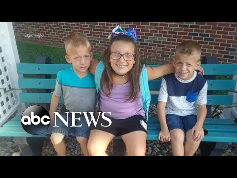 Family grieving after 3 siblings killed at Indiana school bus stop