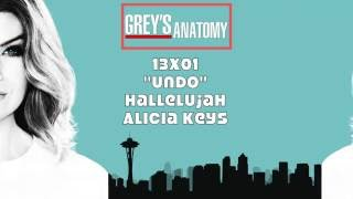"Grey's Anatomy Soundtrack - ""Hallelujah"" by Alicia Keys (13x01)"