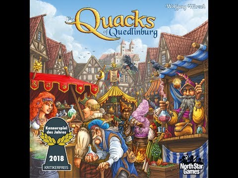 Dad vs Daughter - The Quacks of Quedlinburg