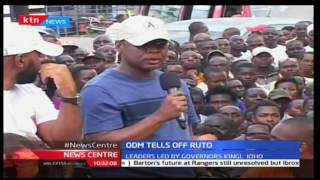 News Centre 21st November 2016 - ODM tells off DP Ruto over alleged theft in Kilifi County