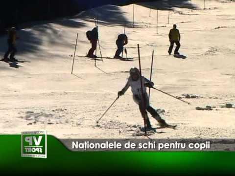 Naţionalele de schi pentru copii