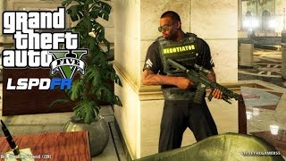 Bank Robbery Alpha Test | Assorted Callouts by Albo1125 | GTA 5
