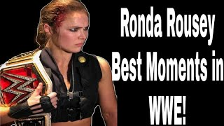 Ronda Rousey Best Moments in 2018  #WWE