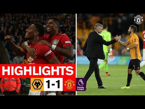 HIGHLIGHTS | Wolves 1-1 United | Reds frustrated in Molineux draw | Premier League