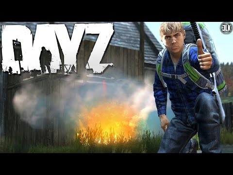 Fresh Spawn helps me RAID a Base! - DayZ