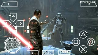 Star Wars : The Force Download Highly Compressed  500mb Psp Iso On Android
