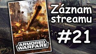 Záznam - Armored Warfare - Třetí ze tří (Type 96B) | #21 | CZ/SK