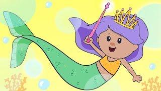 Mermaid Song + More | Mother Goose Club Nursery Rhymes LIVE