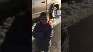 """YOU ARE NOT MY DAD"" KID GETS AN INTERVIEW"