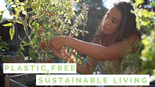 Transitioning into plastic free and sustainable living