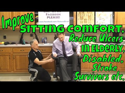 Improve Sitting Comfort, Reduce Pressure Ulcers in Elderly, Disabled, Stroke Survivors etc.