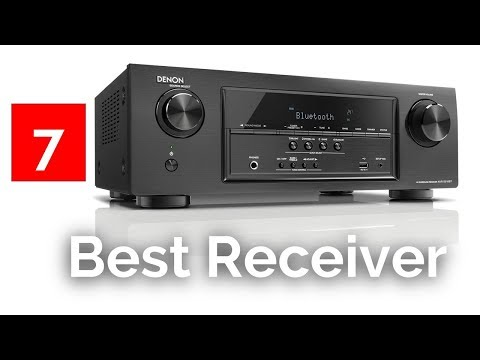 Top 7 Best AV Receivers – Best Home Theater Receiver Reviews 2018