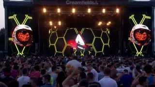 Afrojack - LIVE at Creamfields (25.08.2013)