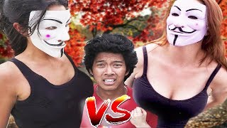HACKER GIRL Real Life NINJA BATTLE ROYALE Secret Riddles and Clues Found!