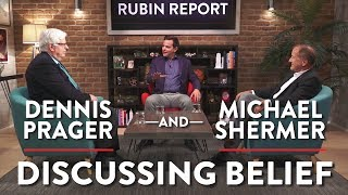 Dennis Prager & Michael Shermer: Discussing Belief (Pt. 1)