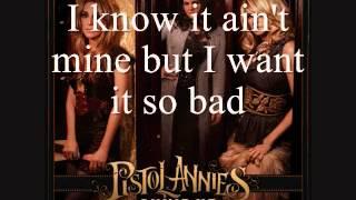 Pistol Annies   I Feel A Sin Comin' On [Lyrics On Screen]