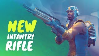 NEW INFANTRY RIFLE! (Fortnite Battle Royale)