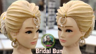 Bridal Hairstyle 2019 /latest Bridal Hairstyle 2019/ Indian Bridal Hairstyle 2019/ Easy Bridal Bun