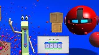 Adding Multi-Digit Numbers - 4th Grade Math Videos