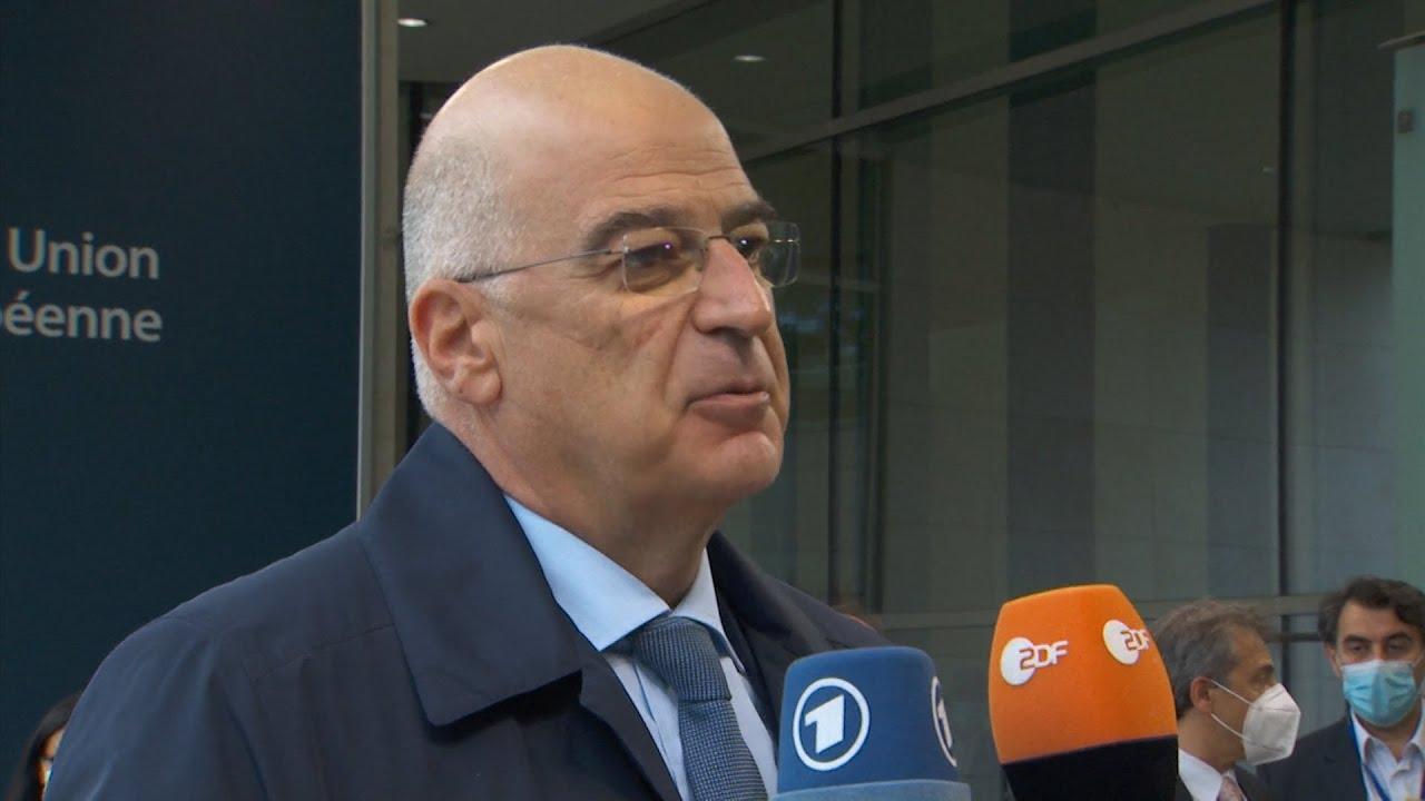 Στο Συμβούλιο Εξωτερικών Υποθέσεων της Ε.Ε. ο Νίκος Δένδιας