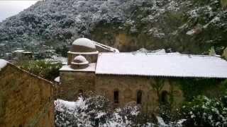 preview picture of video 'Mili San Pietro (Messina) sotto la neve. 31 dicembre 2014'