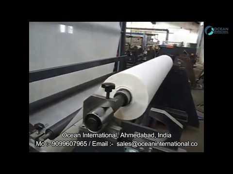 Thermal Paper High Speed Hot Melt Adhesive Coating Machine
