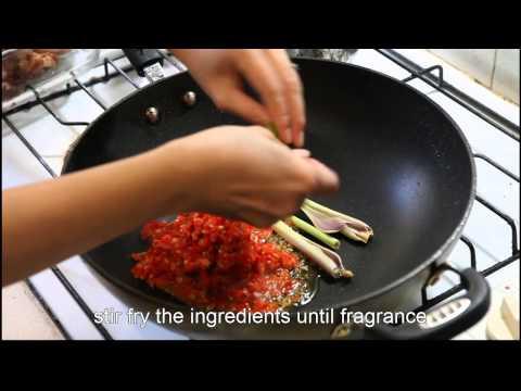 Video Ayam Rica Rica - Indonesian food