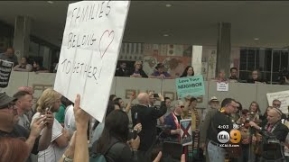 'Children Over Families' Rally Brings Issue Of Separated Immigrant Families To Downtown LA