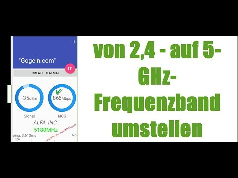 5-GHz-WLAN unter Windows  bevorzugen | umstellen | Anleitung.