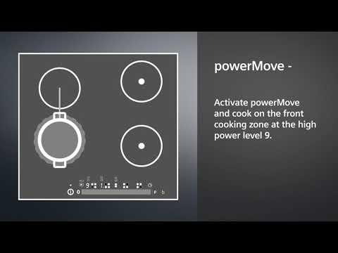 Siemens Induction Domino EX375FXB1E - Black Video 1