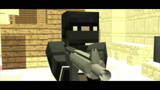 CS GO Minecraft Animation
