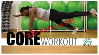 15 Minute Core Workout. ALL LEVELS! by The Body Expert