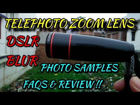 Telephoto Zoom Lens – Review, FAQs & Photo Samples | Hindi