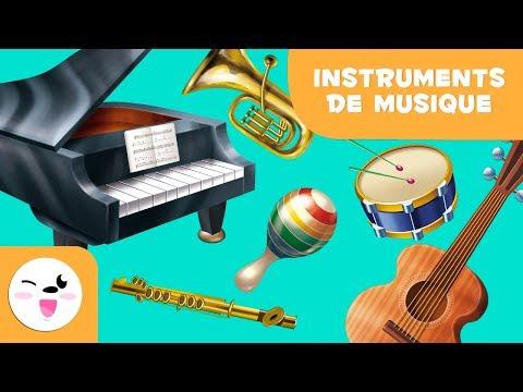 Apprends les instruments musicaux | VENT, CORDE ET PERCUSSION | Musique pour les enfants