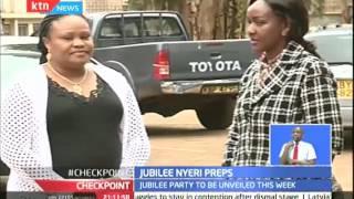 Jubilee Nyeri preps; anxiety over Jubilee launch