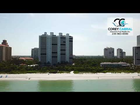 Bay Colony Naples, Florida beachfront video