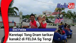 Keretapi Tong Dram Tarikan Kanak2 Di FELDA Sg Tengi