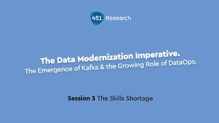The Emergence of Kafka & the Growing Role of DataOps - Session 3