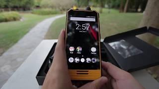 Смартфон Nomu T18 Yellow от компании Cthp - видео 3