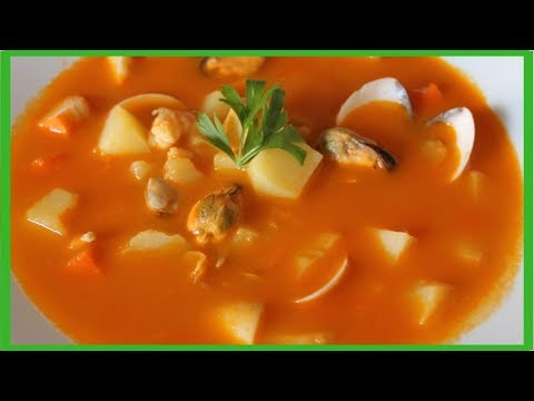 SOPA DE MARISCO ¡¡Super facil!!